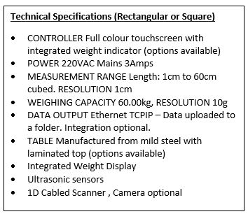 Multi Cube Specifications
